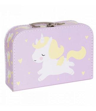 A Little Lovely Company Koffer Unicorn