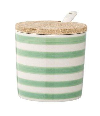 Bloomingville Patrizia Jar mit Löffel Grün
