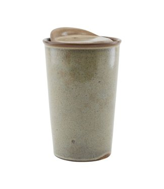 House Doctor Kaffee Becher To-Go Sand