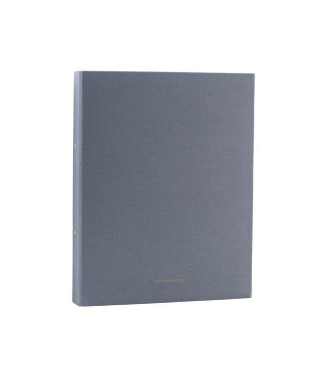 Monograph Binder, Dunkelgrau