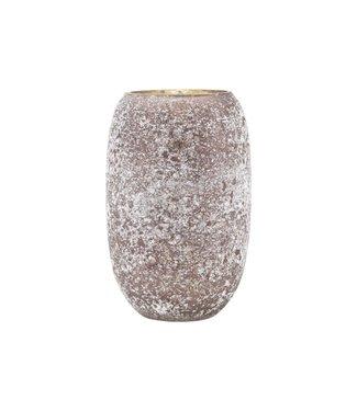 House Doctor Vase, Earth, Braun