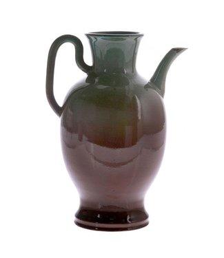 HKliving Keramik Vase Jug Grün Large