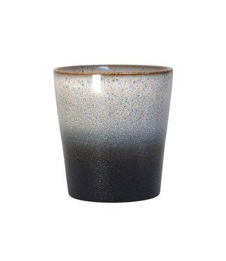 HKliving Keramik 70ern Tasse Rock
