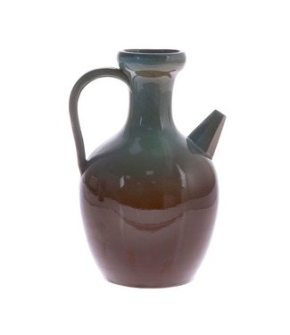 HKliving Keramik Vase Jug Blau Medium