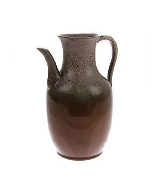 HKliving Keramik Vase Jug Brown Medium