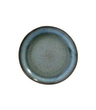 HKliving Keramik 70er Desertteller Moss