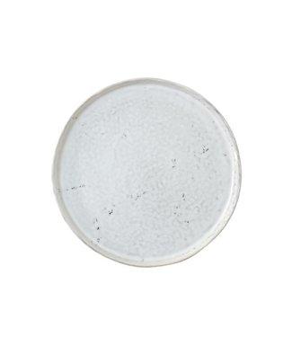 HKliving Keramik Frühstück Teller Weiß