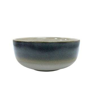 HKliving Keramik 70ern Schüssel Ocean Medium