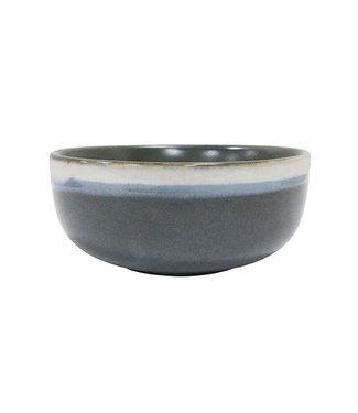 HKliving Keramik 70ern Schüssel Camouflage Medium