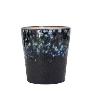 HKliving Keramik 70ern Tasse Galaxy