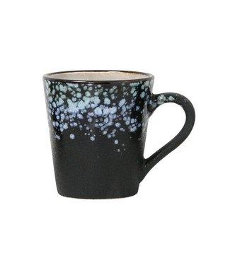 HKliving Keramik 70ern Espresso Tasse Galaxy