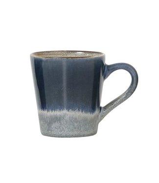 HKliving Keramiktasse 70ern Espresso Ocean