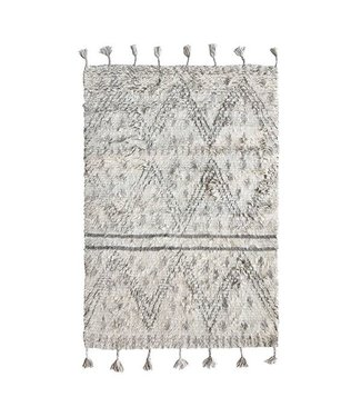 HKliving Handgewoben Berber Wolle Teppich 120x180cm