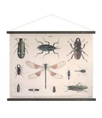 HKliving Schulplatte Insekte XL