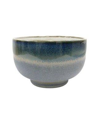 HKliving Keramik 70ern Schüssel Ocean - Large