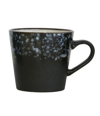 HKliving Keramiktasse Cappucino 70ern Galaxy