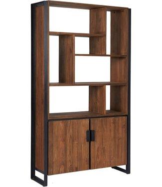 d-Bodhi Bücherschrank Fendy mit 2 Türen