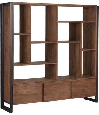 d-Bodhi Bücherschrank Fendy mit 3 Schubladen