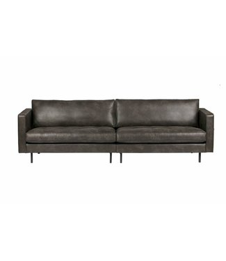 BePureHome Rodeo Classic Sofa 3-seater Schwarz
