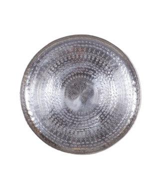 BePureHome Big Waitress Metall Schale Silber 44 cm