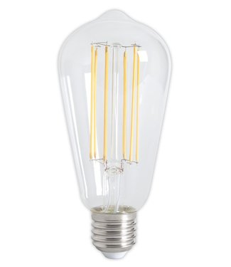 Calex LED Filament Dimmable 350Lm 4watt E07 Extra Warm Clear Rustic