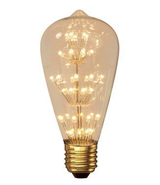 Calex LED Pearl Rustic 280Lm 2Watt Extra Warm