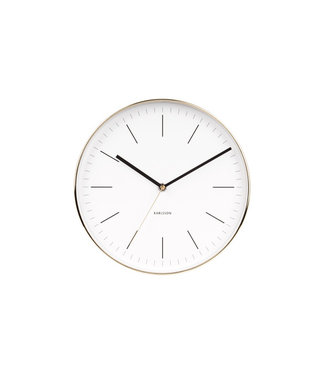 Karlsson Wall Clock Minimal White