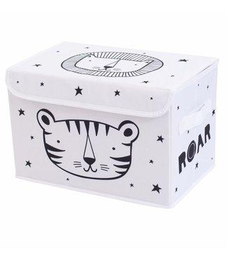 A Little Lovely Company Pop-up storage box: Roar