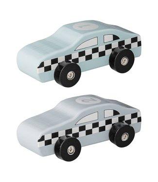 Bloomingville Spielzeugauto Set von 2 Blau