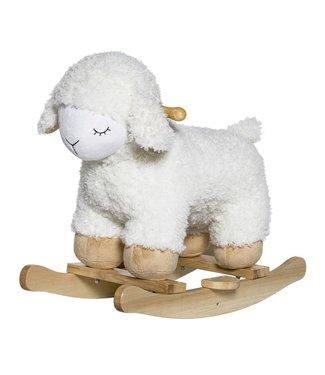 Bloomingville Schaukeltier Schaf Weiß