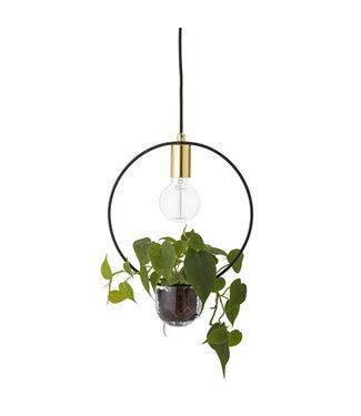 Bloomingville Goldene Lampe Blooming
