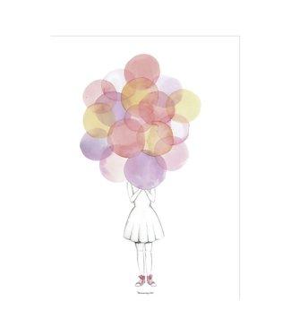 Bloomingville Poster Luftballons