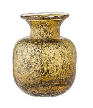 Bloomingville Vase Braun Glas