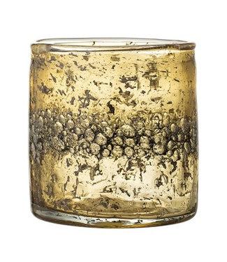 Bloomingville Teelicht Braun Glas