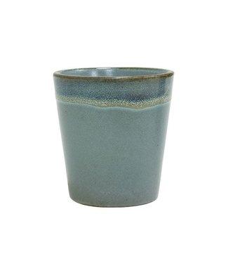 HKliving Keramik 70ern Tasse Moss