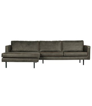 BePureHome Rodeo Ecksofa Links Grün
