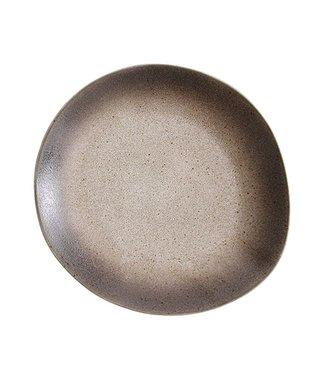 HKliving Essteller Sand Keramik 70ern