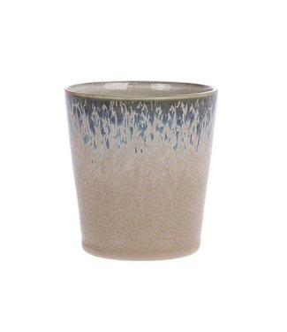 HKliving Tasse Bark Keramik 70ern