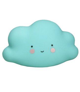 A Little Lovely Company Mini-Wolkenlicht Blau