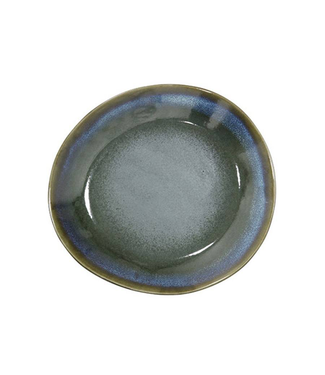 HKliving Teller Moss Keramik 70ern Ø22 cm