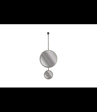 BePureHome Spiegel Chain Doppelt Schwarz XL