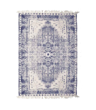 By-Boo Teppich Cana 160x230 cm - Blau