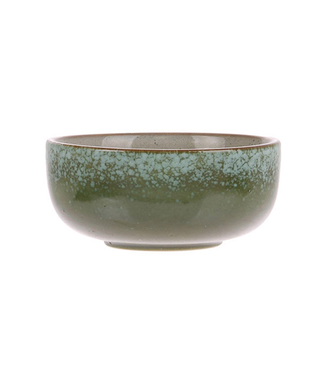 HKliving Keramik 70er Schüssel Grass Medium