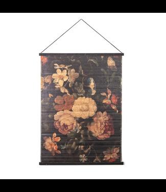 By-Boo Wandbild Miyagi Blumen Groß