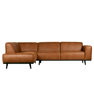 BePureHome Statement Ecksofa Links Cognac
