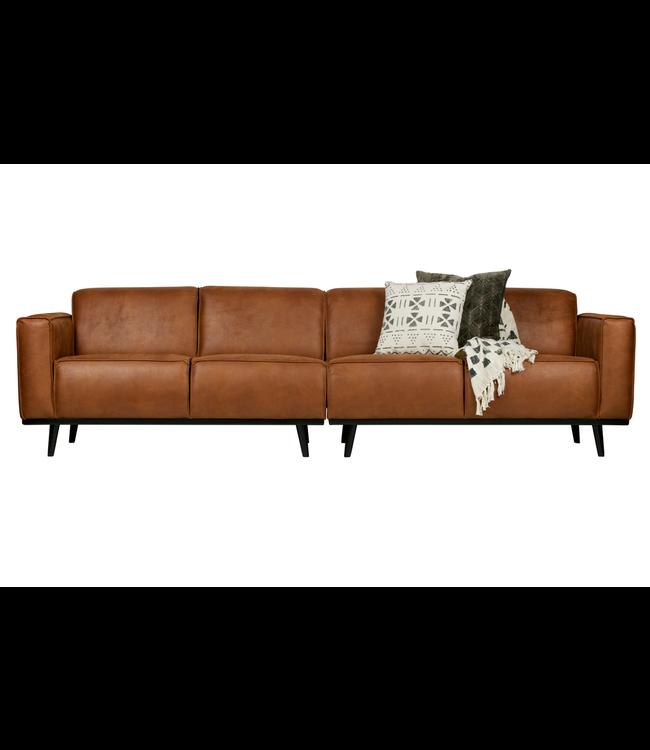 Statement Sofa 4-Sitz Cognac - My Dutch Living Room