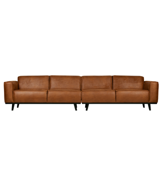 BePureHome Statement Sofa 4-Sitz XL Cognac