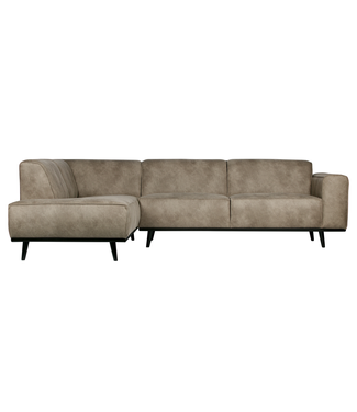 BePureHome Statement Ecksofa Links Elephant Skin