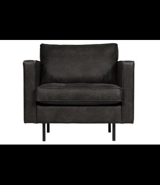 BePureHome Rodeo Classic Sessel 1,5-Sitzer Schwarz