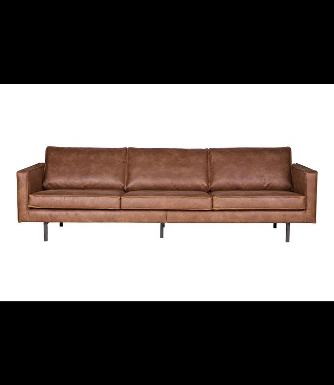 BePureHome Rodeo Sofa 3-Sitzer Cognac